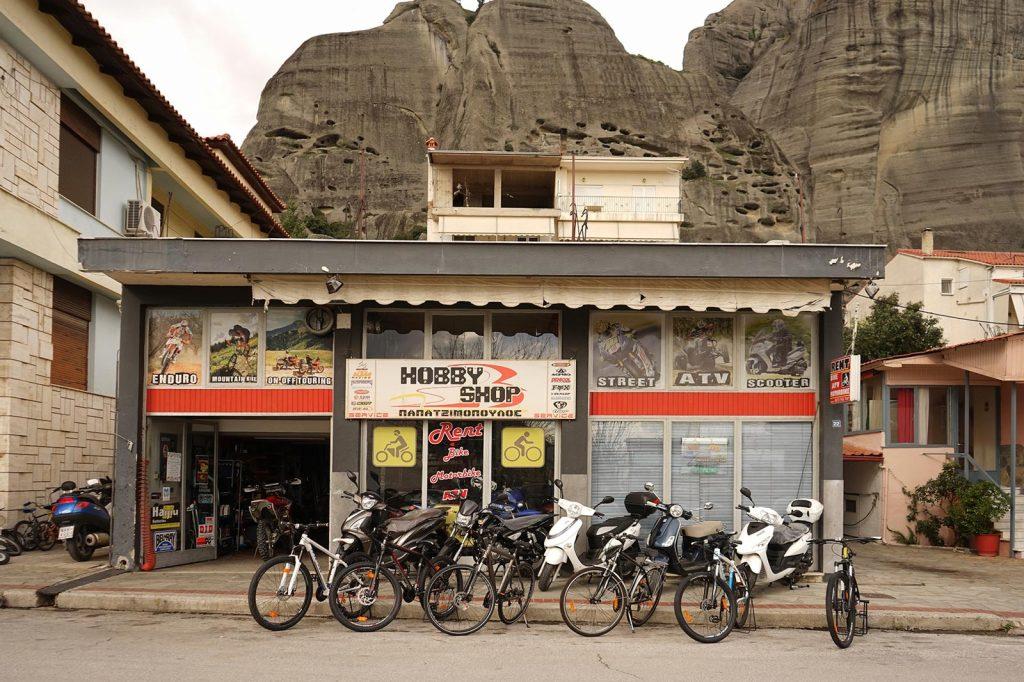 Meteora motorbikes